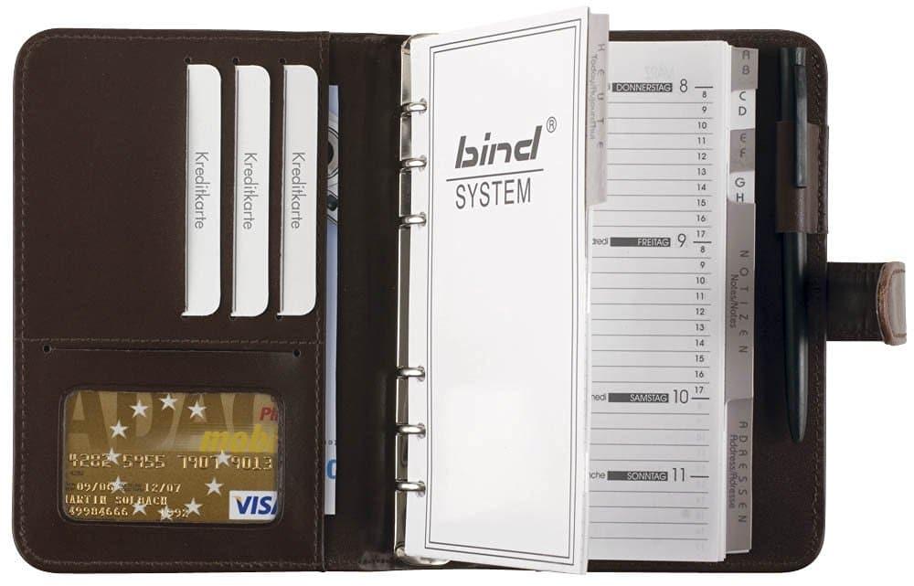 Der bind Systemplaner steht für individuelle Terminplanung und und besten Überblick über Ihre Zeit.