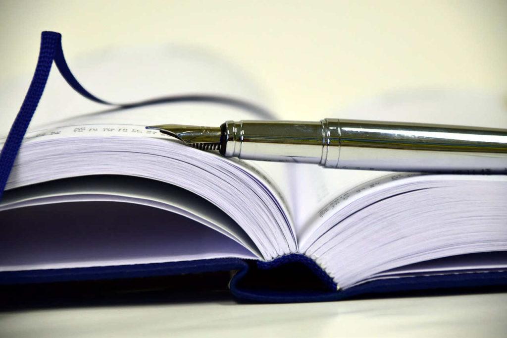 Buchkalender als Terminplaner